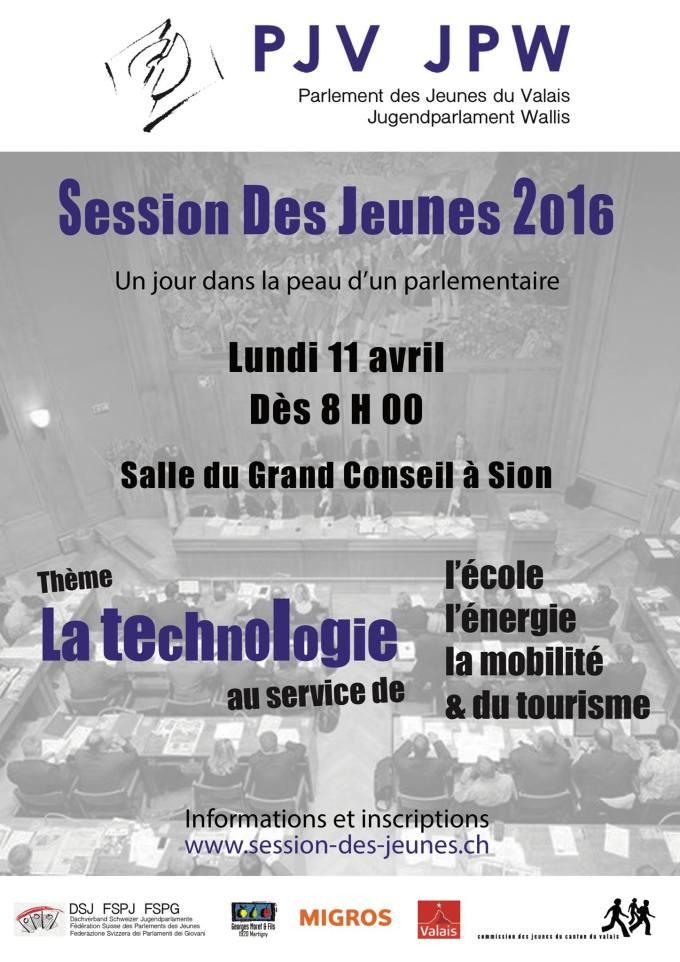 Session des jeunes du 11 avril 2016